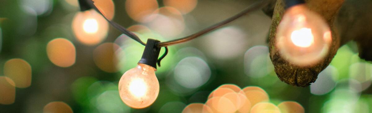 Herbst-Beleuchtung
